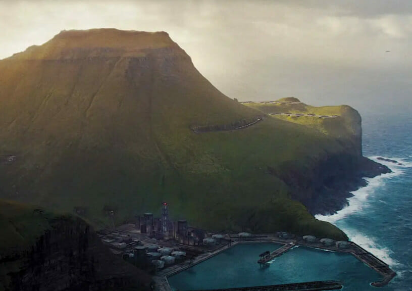 """filming locations of new james bond movie """"No Time To Die"""" - The picturesque Kalsoy Island"""