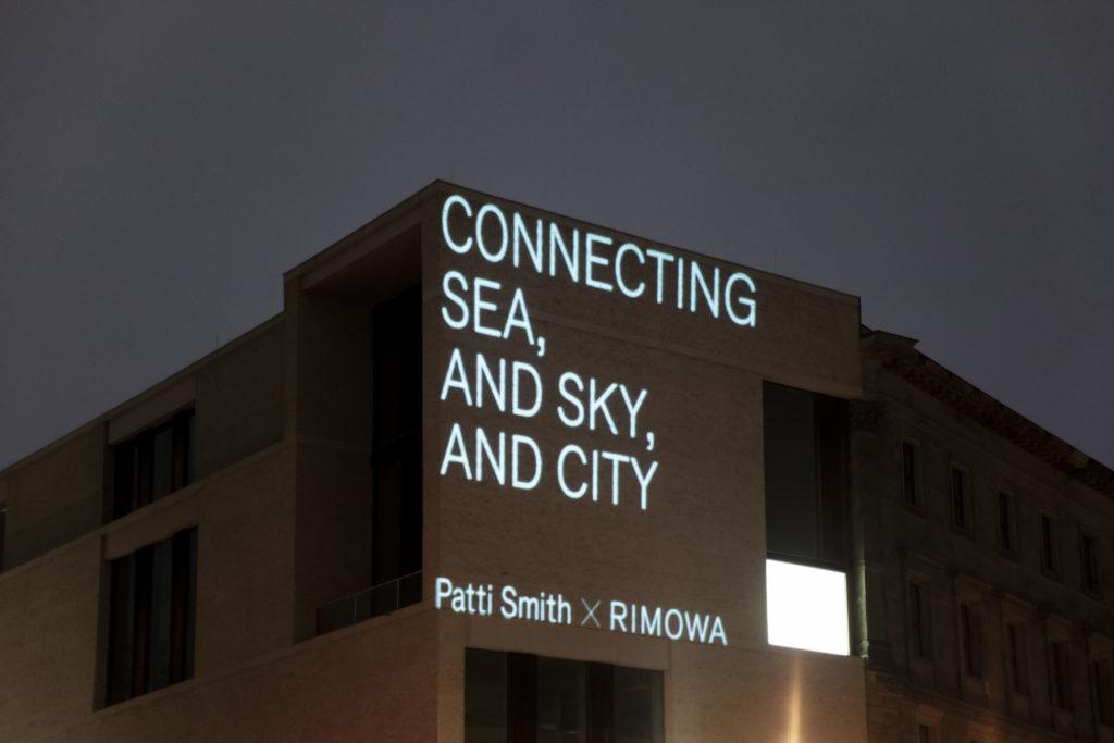 rimowa x patti smith 'never still' berlin 1