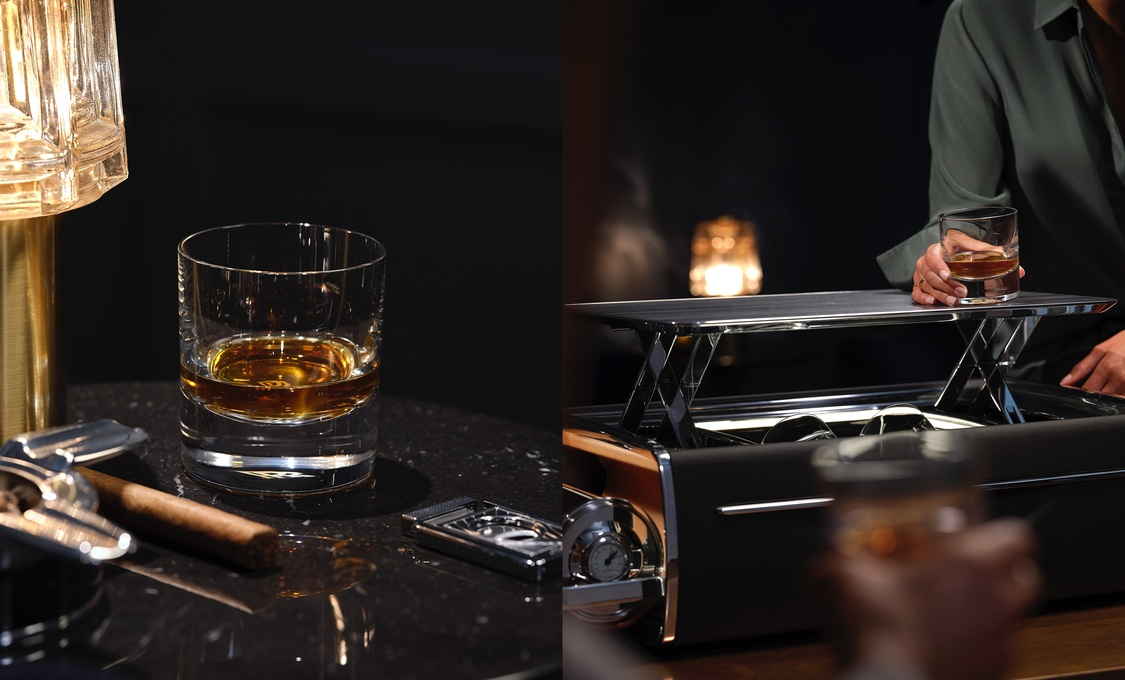 Rolls-Royce Presents the Rolls-Royce Cellarette, an Exclusive Whisky and Cigar Chest